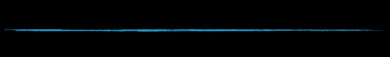 horiz line blue