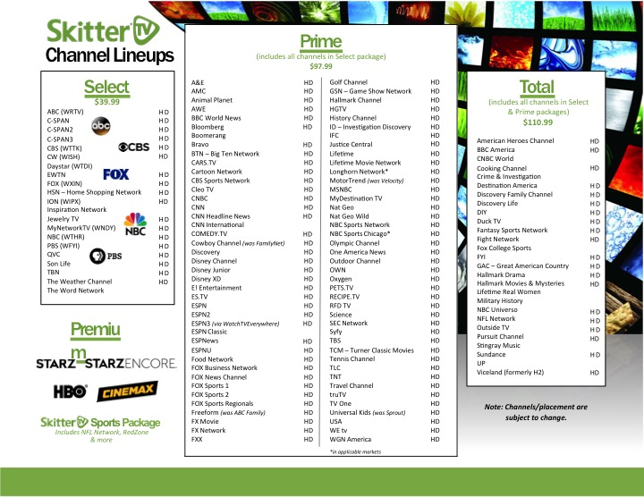 photograph about C Span Printable Tv Schedule referred to as Skitter Courses Swayzee Communications Corp